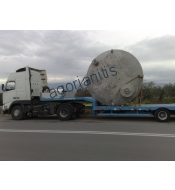 Overweight loads special transports