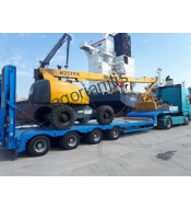 Earthmover machines special transports