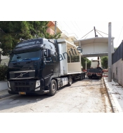 Metal - wooden structures special transports
